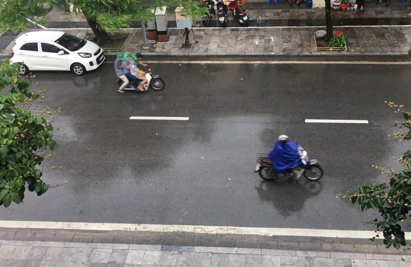 Hôm nay (30/9), khu vực Hà Nội có mưa rải rác
