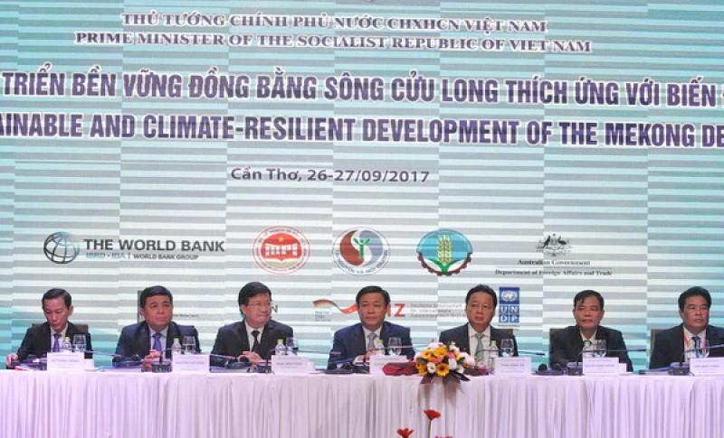 Khai mạc Hội nghị phát triển bền vững ĐBSCL thích ứng với biến đổi khí hậu