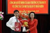 Ông Dương Đức Tuấn được bổ nhiệm Bí thư Quận ủy Hoàn Kiếm