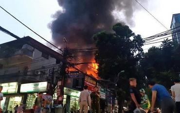 Quận Ba Đình thông tin chính thức vụ cháy trên đường La Thành