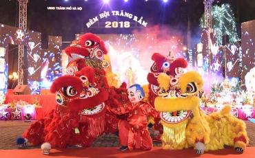 """Thiếu nhi Thủ đô chung vui trong """"Đêm hội Trăng rằm năm 2018"""""""