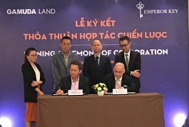 """Gamuda Land """"bắt tay"""" Emperor Key phát triển dự án ra thị trường quốc tế"""