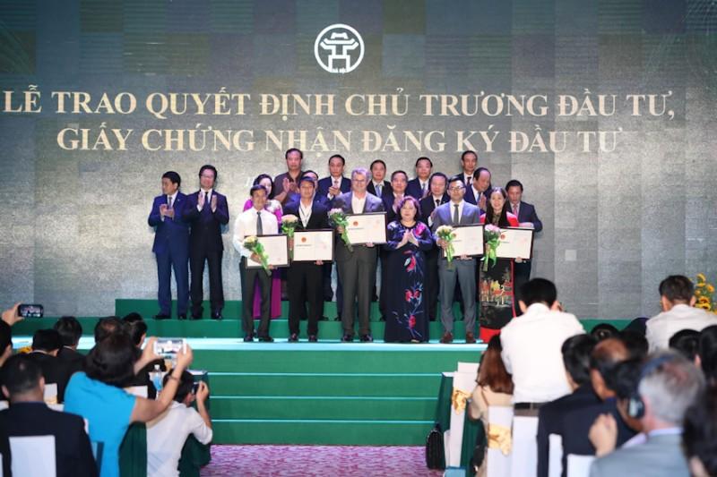 Thu hút đầu tư nước ngoài của Hà Nội tăng 5,4 lần