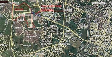 Phê duyệt xây dựng tuyến đường nối huyện Hoài Đức và quận Nam Từ Liêm