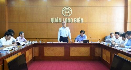Quận Long Biên: Nỗ lực hoàn thành các chỉ tiêu nhiệm kỳ