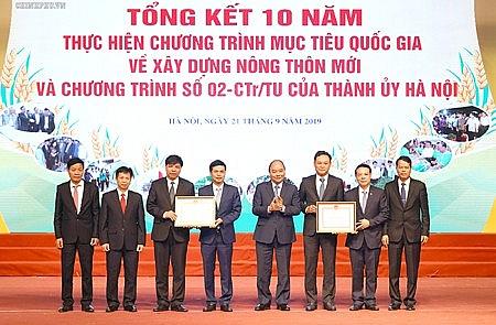 Hà Nội: Xây dựng nông thôn mới gắn với phát triển đô thị