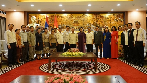 Vun đắp thêm mối quan hệ hữu nghị đặc biệt giữa Việt Nam-Lào