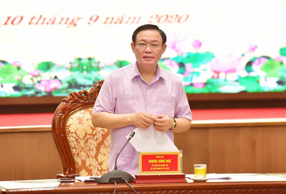 Bí thư Thành ủy Vương Đình Huệ: Kiên quyết giải ngân hết số vốn đã giao