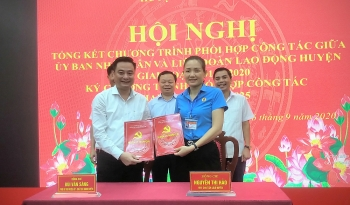 Huyện Thanh Oai: Phát huy quan hệ giữa Công đoàn và chính quyền đồng cấp