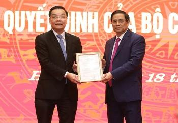 Ông Chu Ngọc Anh làm Phó Bí thư Thành uỷ Hà Nội