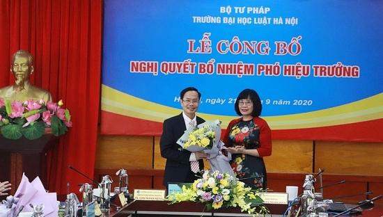 Ông Lê Đình Nghị làm Phó Hiệu trưởng Đại học Luật Hà Nội