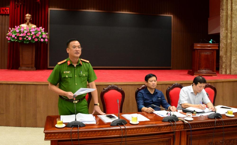 Hà Nội: Đang nghiệm thu phòng cháy, chữa cháy tại nơi tổ chức Đại hội Đảng