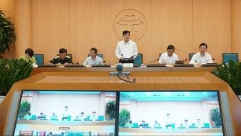 Hà Nội họp trực tuyến toàn thành phố về phòng chống Covid-19