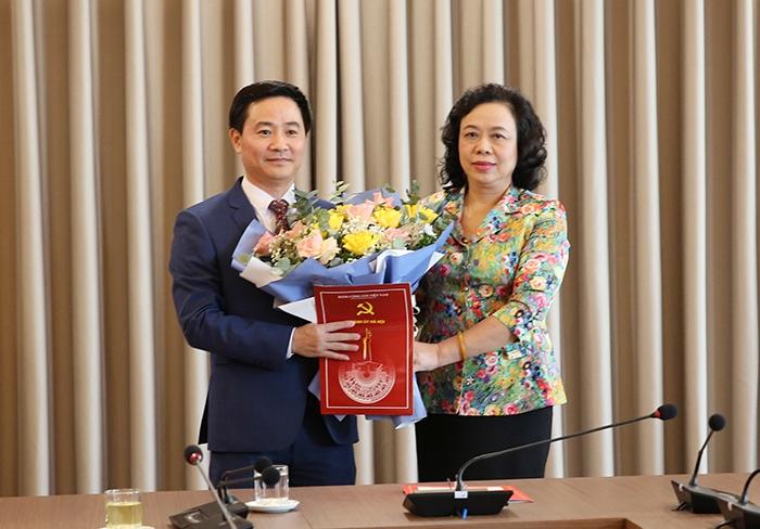 Đồng chí Trần Anh Tuấn làm Chánh Văn phòng Thành ủy Hà Nội