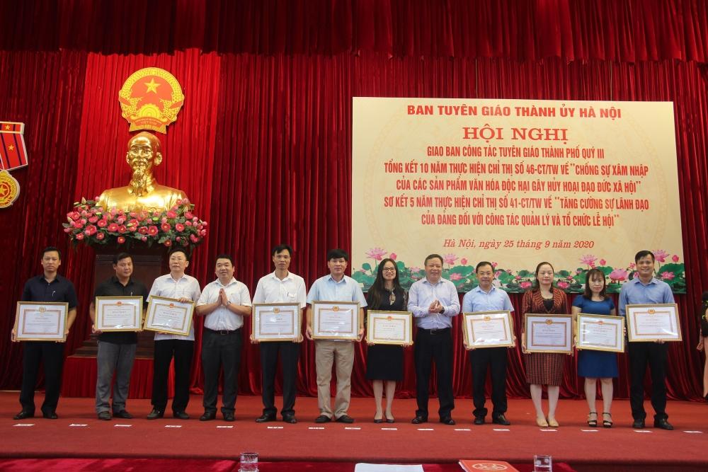 Hà Nội: Tạo môi trường xã hội, chính trị lành mạnh để tổ chức tốt các sự kiện quan trọng