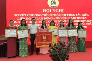 Huyện Thanh Oai: Công đoàn và nhà trường gắn kết chặt chẽ