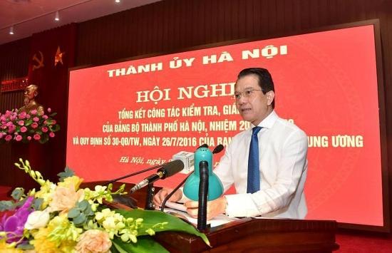 Hà Nội thi hành kỷ luật 3.171 đảng viên trong 5 năm