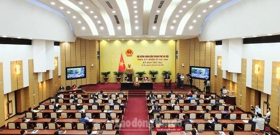 Khai mạc kỳ họp thứ hai HĐND thành phố Hà Nội khóa XVI