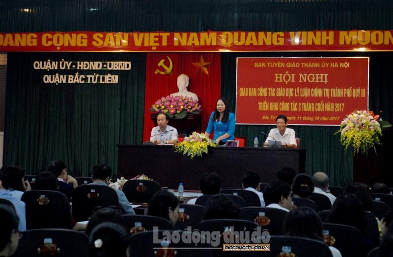 Hà Nội: Tăng cường công tác giáo dục lý luận chính trị