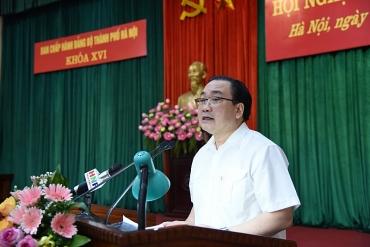 Kết luận của Bí thư Hoàng Trung Hải tại Hội nghị BCH Đảng bộ Thành phố lần thứ 15