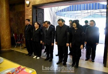 Trang trọng tổ chức lễ tang đồng chíNguyễn Đình Sở