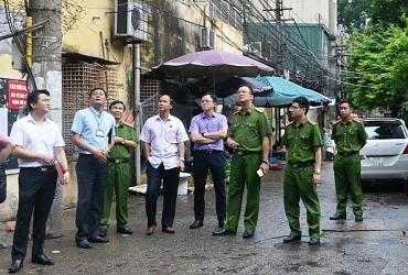 Phê bình các đơn vị chưa nghiêm túc thực hiện quy định phòng cháy