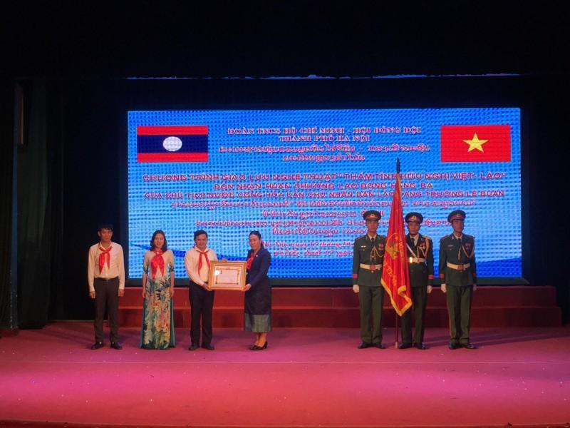 Tuổi trẻ Thủ đô hai nước Việt – Lào tăng cường tình đoàn kết