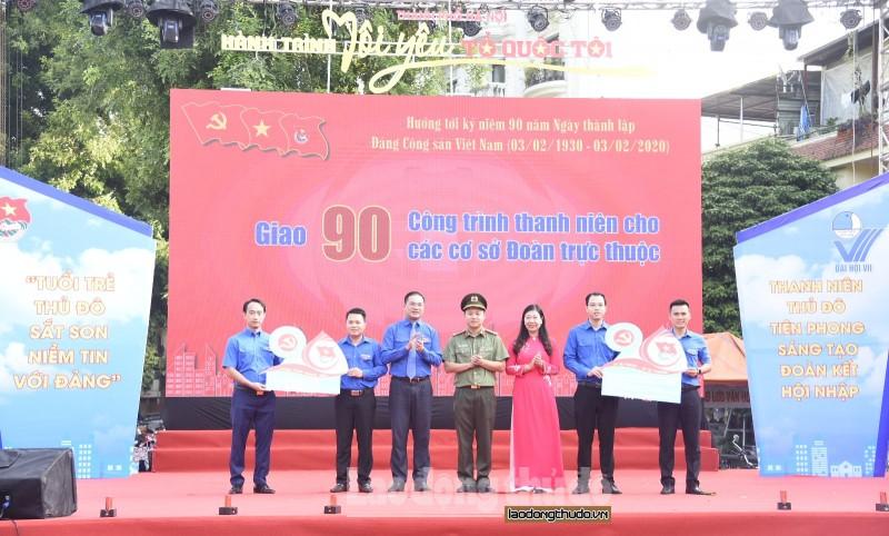 """Gần 700 thanh niên Thủ đô tham gia ngày hội """"Tôi yêu Tổ quốc tôi"""""""
