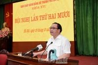 Quyết tâm hoàn thành các chỉ tiêu Nghị quyết Đại hội lần thứ XVI Đảng bộ thành phố Hà Nội