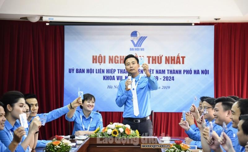 Hội Liên hiệp thanh niên Việt Nam thành phố Hà Nội có tân chủ tịch