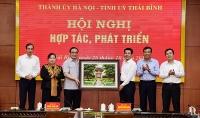 Hà Nội – Thái Bình: Thống nhất 12 nhóm nội dung hợp tác