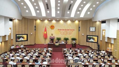 Hà Nội sẽ thông qua 23 nghị quyết tại kỳ họp Hội đồng nhân dân cuối năm