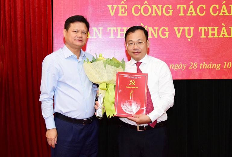 Bổ nhiệm đồng chí Lương Chí Công làm Phó Tổng Biên tập Báo Hànộimới