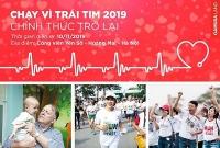 """Hơn 10.000 người tham gia """"Chạy vì trái tim 2019"""""""