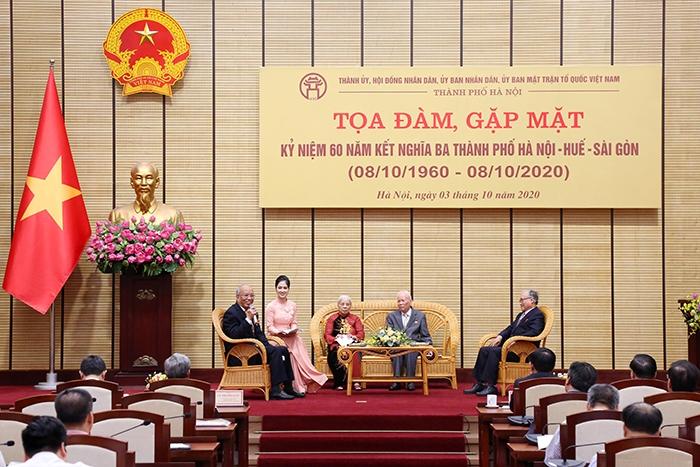 Hà Nội - Huế - Sài Gòn: Gắn bó trong một chỉnh thể thống nhất