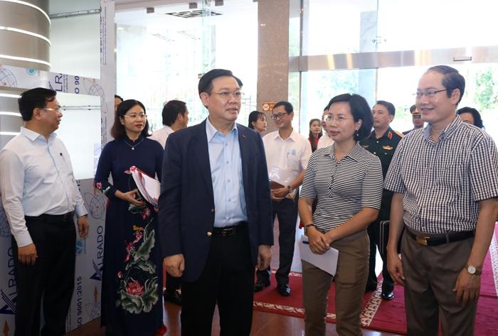 phố duyệt công tác phục vụ Đại hội XVII Đảng bộ Thành phố tại Cung Văn hóa Lao động Hữu nghị Việt