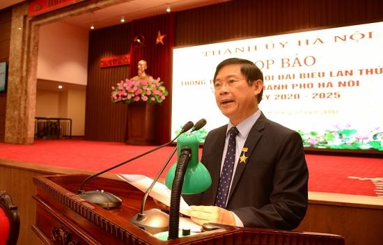 Đại hội đại biểu lần thứ XVII Đảng bộ thành phố Hà Nội sẽ diễn ra từ ngày 11-13/10/2020