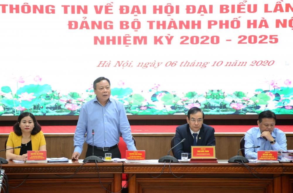 Hà Nội: 81 đồng chí được giới thiệu tham gia Ban Chấp hành khoá XVII