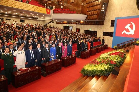 Đại hội đại biểu lần thứ XVII Đảng bộ thành phố Hà Nội tiến hành phiên trù bị