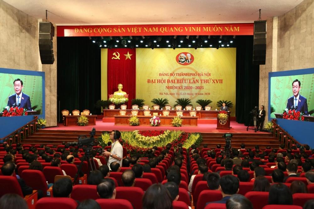 Đại hội lần thứ XVII Đảng bộ thành phố Hà Nội tiến hành phiên trù bị