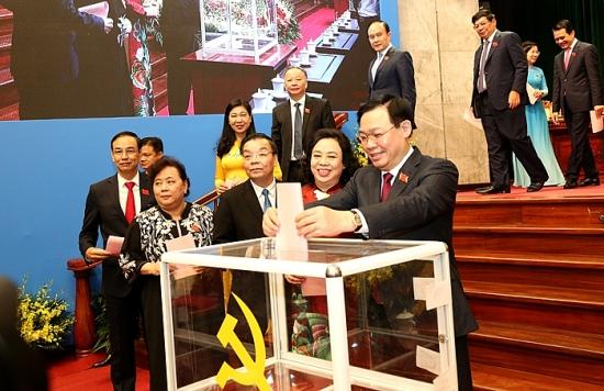 Danh sách Ban Thường vụ Thành uỷ Hà Nội khoá XVII, nhiệm kỳ 2020 -2025