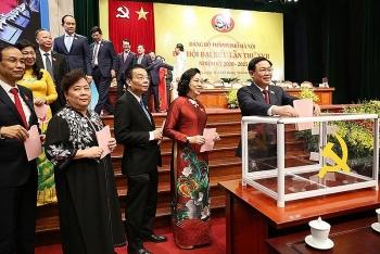 Danh sách 60 đại biểu được bầu đi dự Đại hội Đảng toàn quốc lần thứ XIII