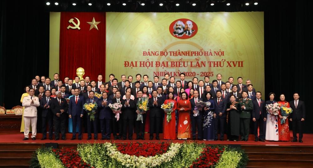 Danh sách Ban Chấp hành Đảng bộ thành phố Hà Nội nhiệm kỳ 2020 - 2025