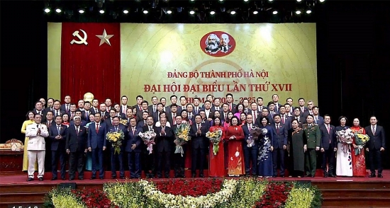 Ban Chấp hành Đảng bộ thành phố Hà Nội khóa XVII hứa: Gương mẫu đi đầu, toàn tâm, toàn ý xây dựng Thủ đô