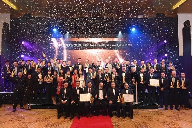 Gamuda Land Việt Nam được vinh danh tại Lễ trao Giải thưởng Bất động sản Việt Nam 2020