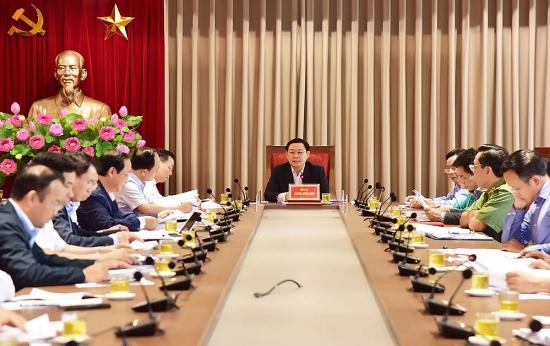 Kết luận của Bí thư Thành ủy Vương Đình Huệ về việc liên quan đến Khu liên hợp xử lý chất thải Sóc Sơn