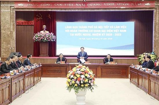 Tăng cường quảng bá hình ảnh Thủ đô Hà Nội đến bạn bè quốc tế