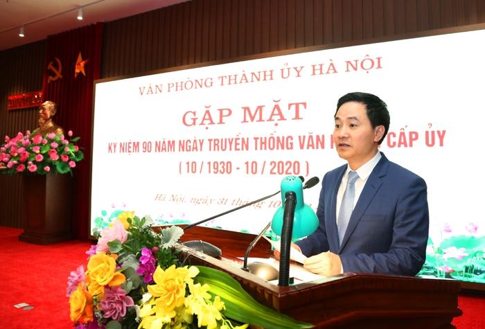 Kịp thời tham mưu, giải quyết những việc mới, việc khó của Thủ đô Hà Nội