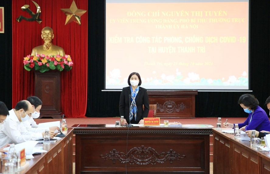 Huyện Thanh Trì cần có kế hoạch cụ thể để phục hồi tăng trưởng kinh tế, bảo đảm an sinh xã hội
