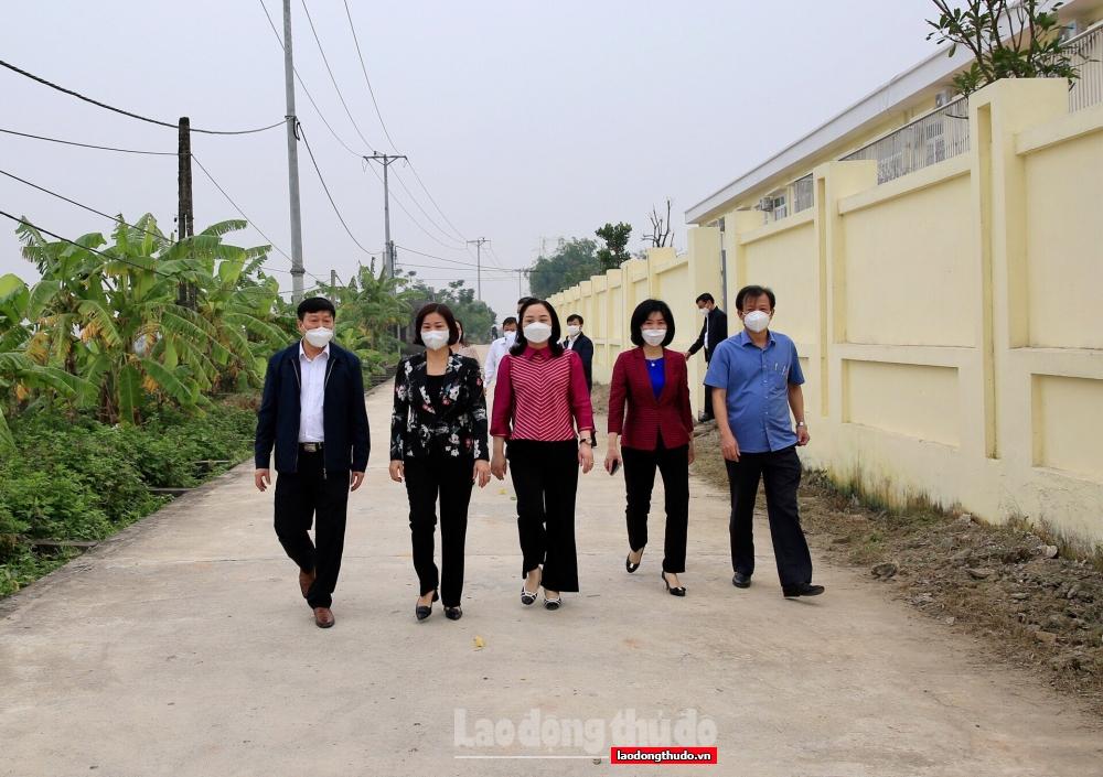 Huyện Ứng Hòa cần tích hợp các tiêu chí đô thị trong xây dựng nông thôn mới